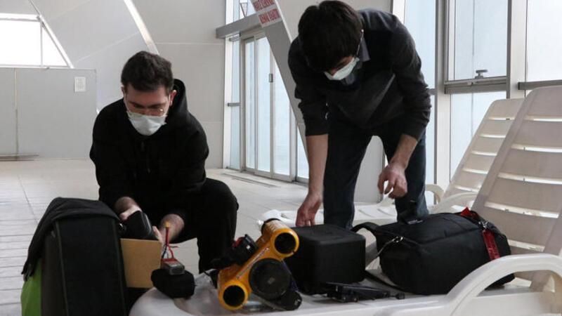 Niğde'de üniversite öğrencisi insansız su altı aracı geliştirdi