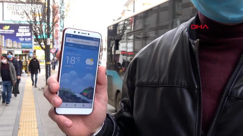 Sivas'ta 91 yılın ocak ayı sıcaklık rekoru kırıldı: 18 derece