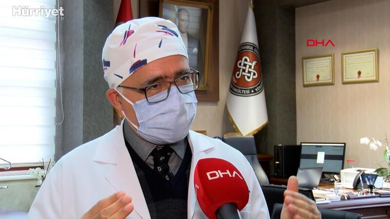 Cerrahpaşa Tıp Fakültesi Dekanı Prof. Dr. Sait Gönen'den aşı açıklaması