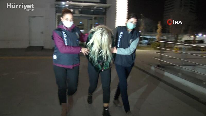 Ümitcan Uygun'un uyuşturucu kullanırken yanında bulunan kadın yakalandı