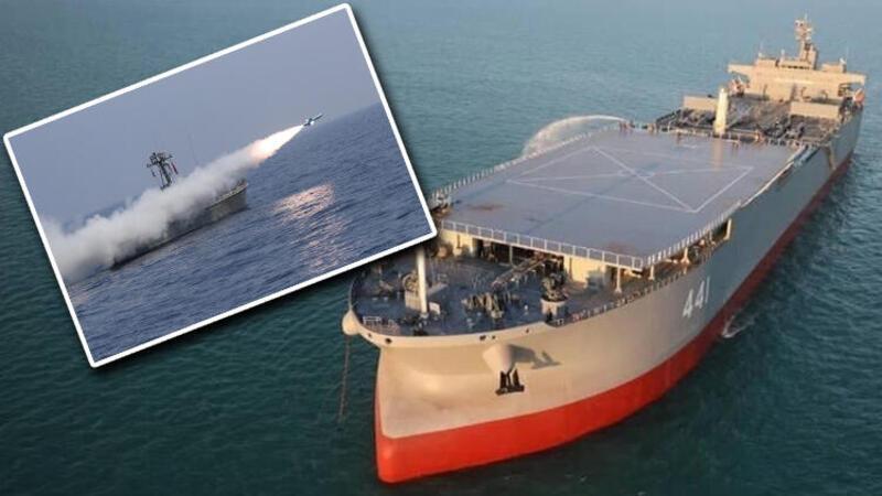 İran'dan gövde gösterisi... Deniz tatbikatı kapsamında çeşitli menzile sahip füze ve torpidolar denendi