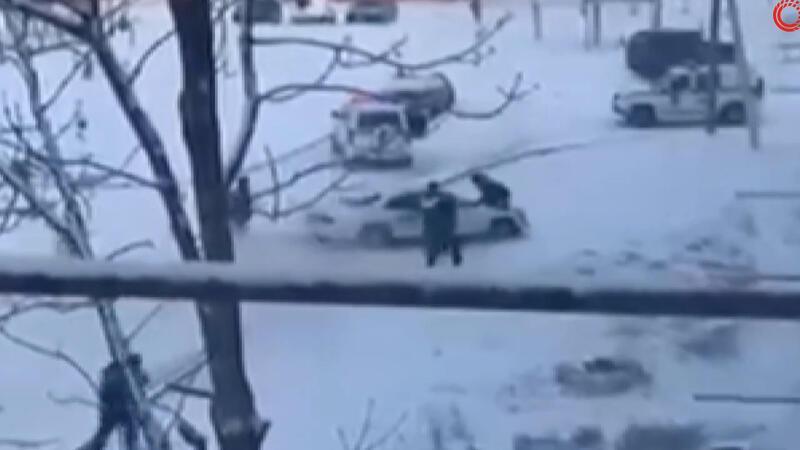 Polis tarafından kovalanan kişi, kaçarken zor anlar yaşattı