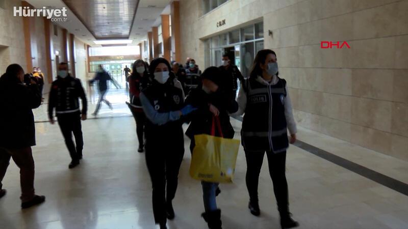 'Altın Kızlar'dan 1 milyonluk hırsızlık