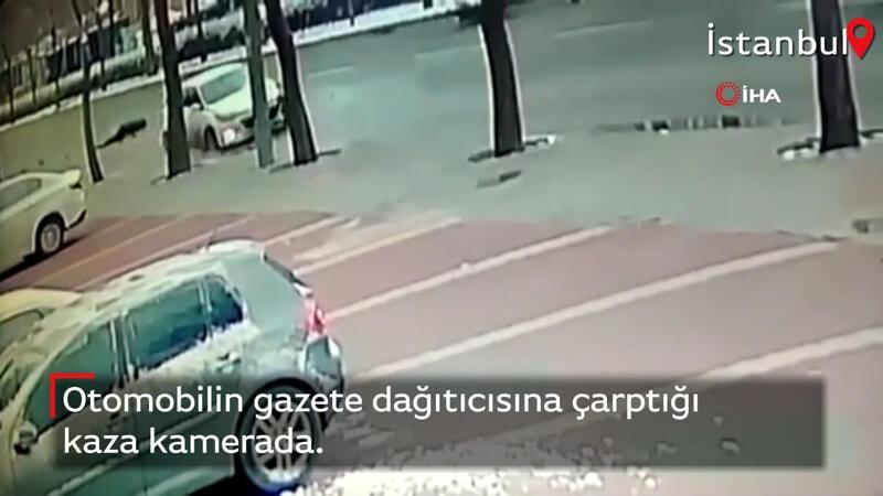 Gazete dağıtıcısı trafik kazasından hayatını kaybetti