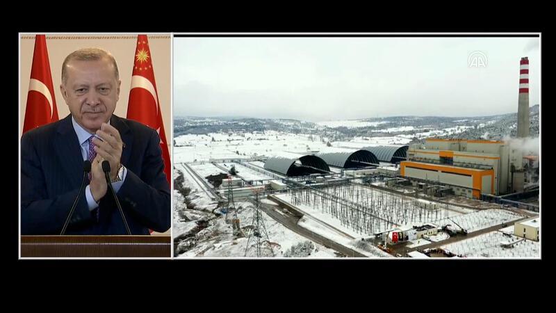 Cumhurbaşkanı Erdoğan, toplu açılış törenine Vahdettin Köşkü'nden canlı bağlantı ile katıldı