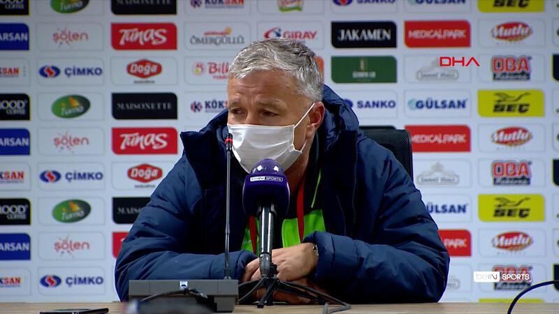 Petrescu: Maçı kazanmayı veya en kötü beraberliği hak ettik