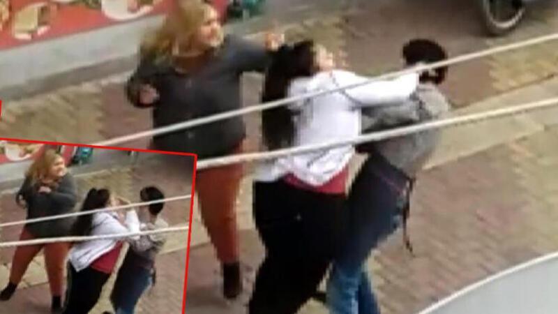 Adıyaman'da telefon numarasını istediği kız kardeşler tarafından böyle dövüldü