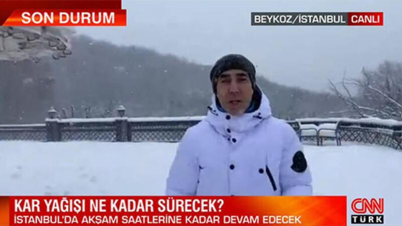 Bünyamin Sürmeli İstanbul'daki kar yağışı ile ilgili bilgi verdi