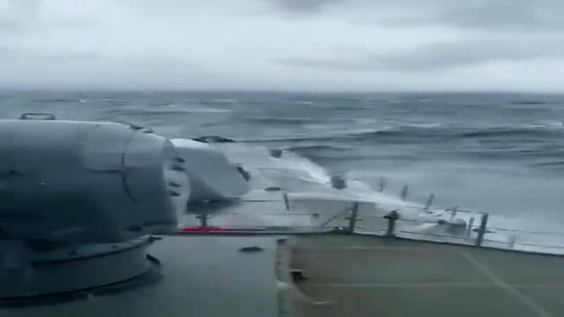 Milli Savunma Bakanlığı Bartın'da batan gemi için bir fırkateyn görevlendirildiğini duyurdu