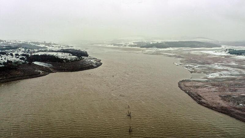 İstanbul'da barajlarda doluluk oranı yüzde 30'lara ulaştı
