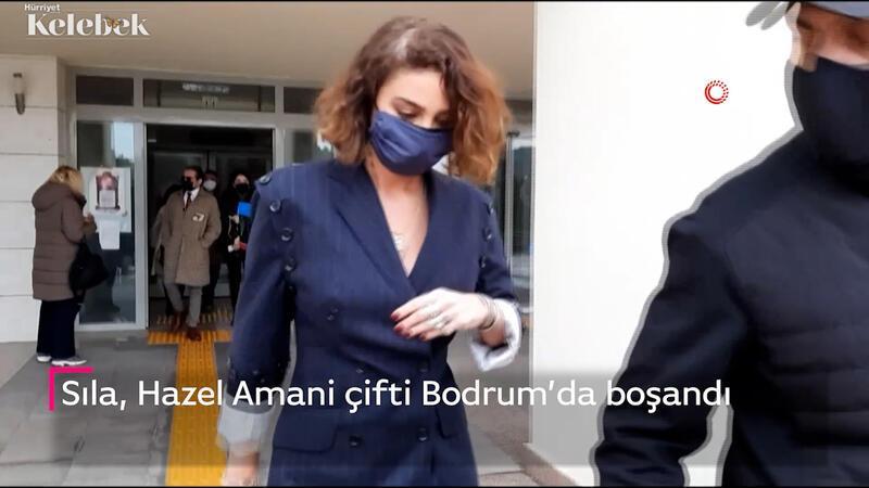 Sıla, Hazer Amani çifti Bodrum'da boşandı
