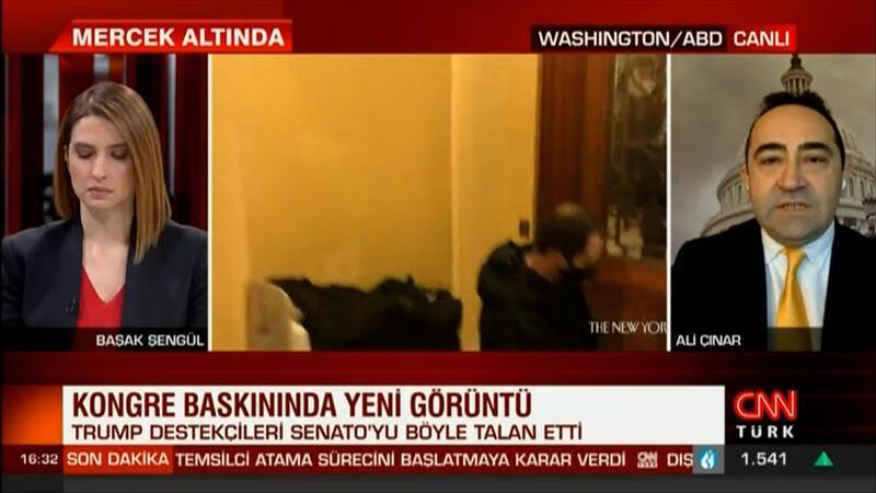 CNN Türk ABD olaylarını anlatıyor