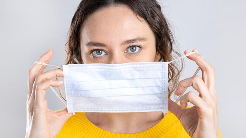Maske kullanımı solunum problemlerinin fark edilmesini sağlıyor!