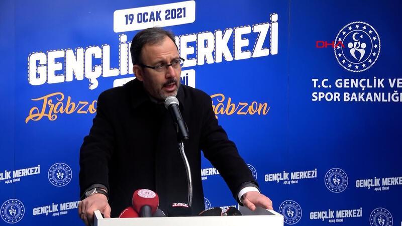 Bakan Kasapoğlu: Eren Bülbül; Türkiye'nin, Trabzon'un cesaret sembolü!