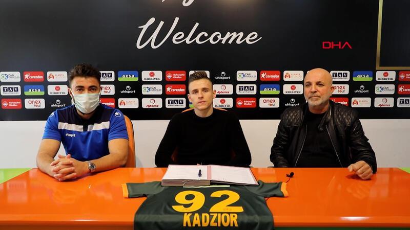 Aytemiz Alanyaspor, Damian Kadzior'u transfer etti