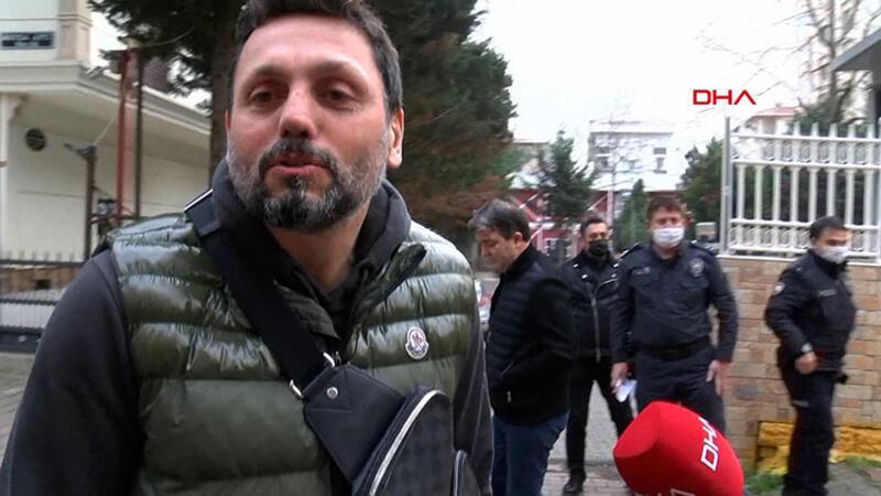 Erol Bulut, polis merkezinde şikayetçi sıfatıyla ifade verdi