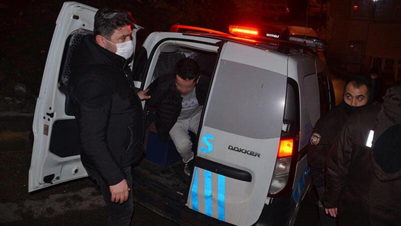Sivil polislerin önünü kesip kendisini polis olarak tanıtan kişi gözaltına alındı