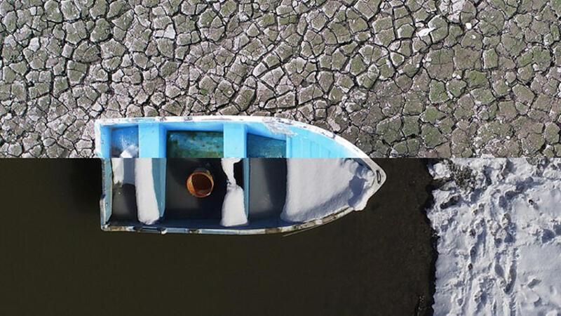 Bursa'da kuruma noktasına gelen Gölbaşı Barajı'nda yağışlarla birlikte su seviyesi arttı