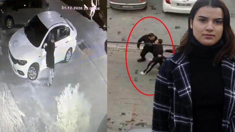 Antalya'da tacize uğradığını iddia ettiği adamın otomobilini tornavidayla çizdi
