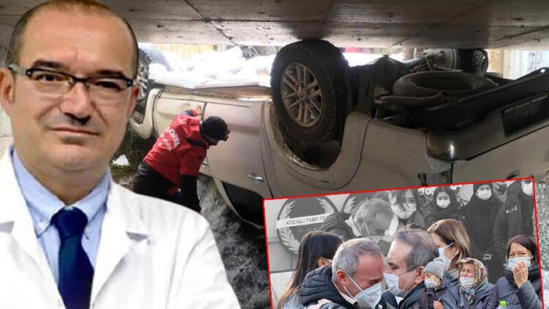 Kocaeli'nin Kartepe ilçesinde kaybolduktan 5 gün sonra ölü bulunan Doktor Uğur Tolun İzmir'de son yolculuğuna uğurlandı
