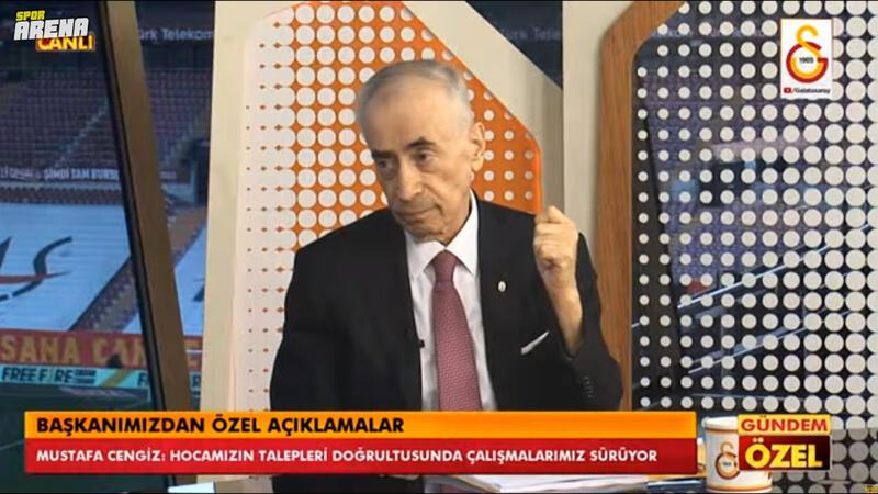 Cengiz'den Ali Koç'a Özil eleştirisi ve transfer cevabı!