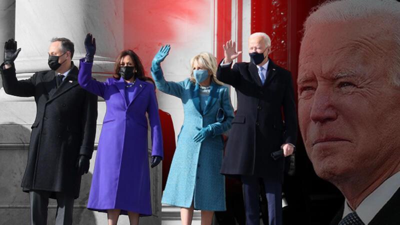 Joe Biden ve Kamala Harris yeminlerini etti