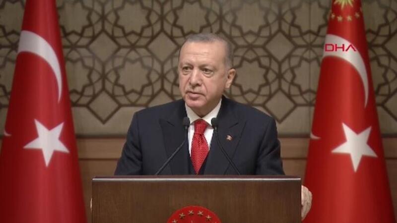 Cumhurbaşkanı Erdoğan, Ödülleri Töreni'nde konuştu