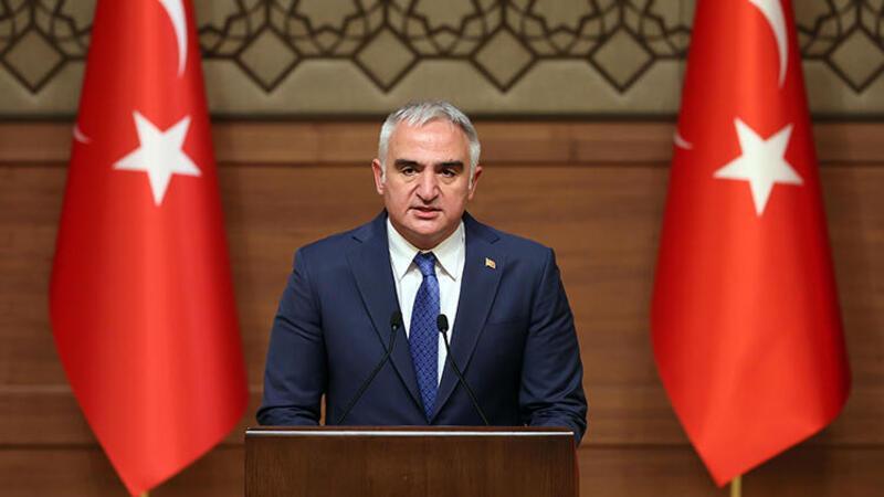 Bakan Ersoy, Kültür ve Turizm Bakanlığı 2019-2020 Özel Ödülleri töreninde konuştu