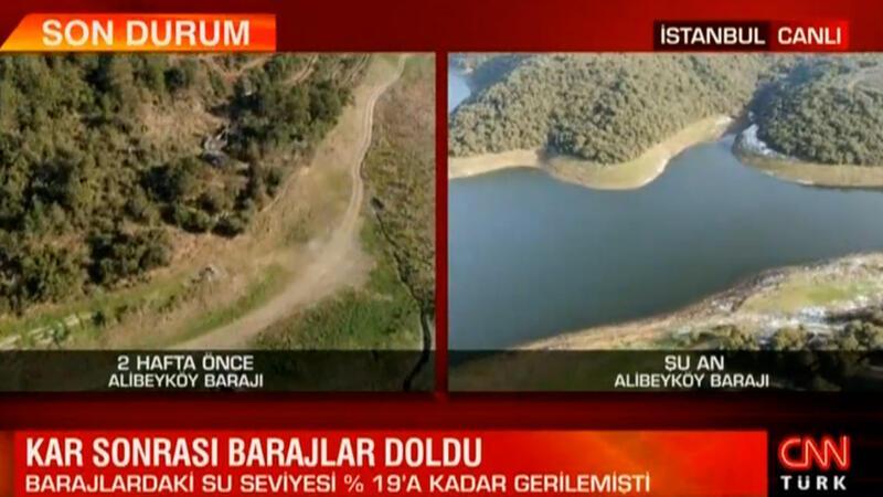 Kar sonrası barajlar doldu