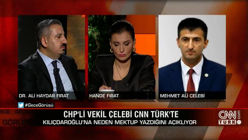 CHP'li vekil Mehmet Ali Çelebi, Kılıçdaroğlu'na neden mektup yazdığını CNN TÜRK'te açıkladı