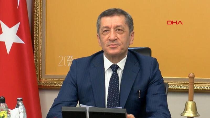 Milli Eğitim Bakanı Ziya Selçuk'tan yüz yüze eğitim açıklaması