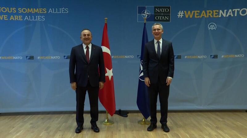 Dışişleri Bakanı Mevlüt Çavuşoğlu, NATO Genel Sekreteri Stoltenberg ile görüştü