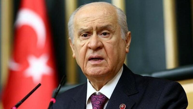 MHP Genel Başkanı Devlet Bahçeli'den açıklama