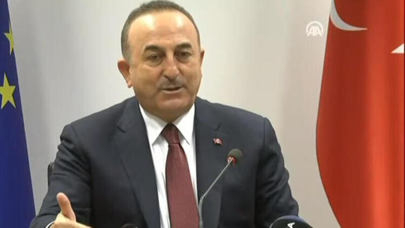 Dışişleri Bakanı Çavuşoğlu, Brüksel'deki temaslarını gazetelere değerlendirdi