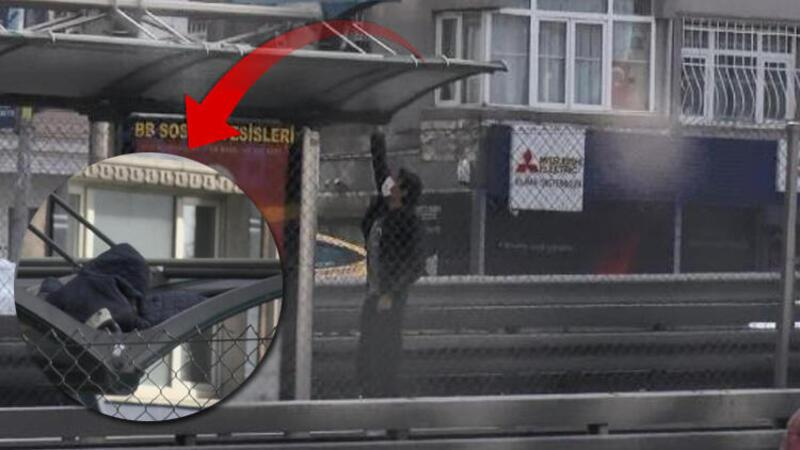 Metrobüste duygu sömürüsüyle dilencilik kamerada