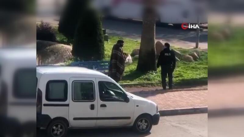 Polis memurundan içleri ısıtan davranış