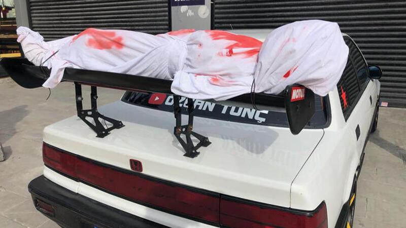 Esenyurt'ta polisi harekete geçiren otomobil!
