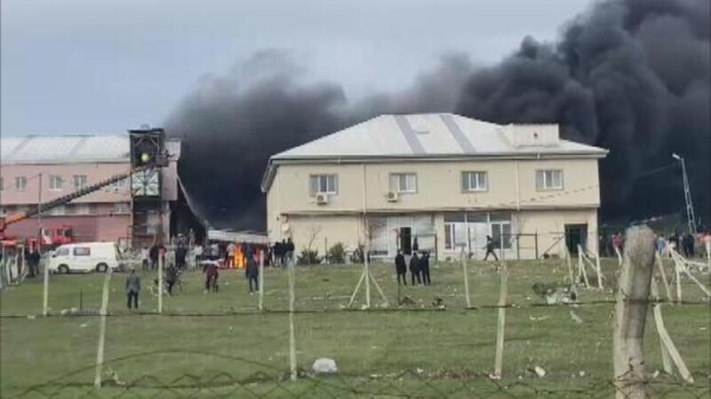 Arnavutköy'de tekstil atölyesinde yangın çıktı