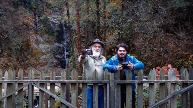 Samsun'da baba-oğul doğayı fotoğraflıyorlar
