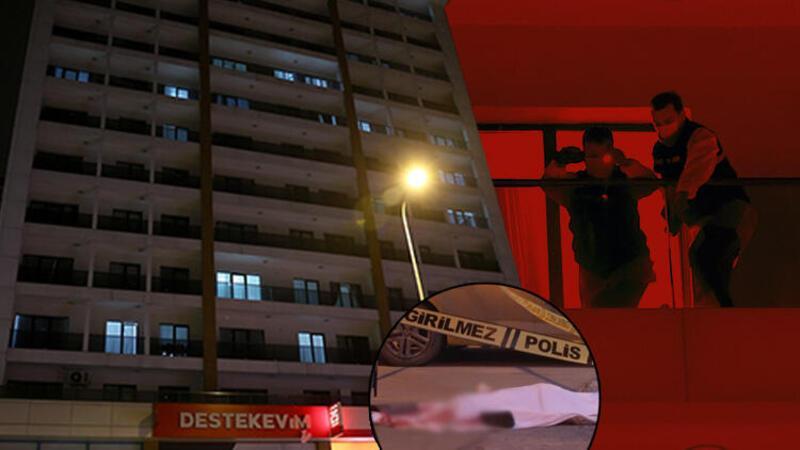 Esenyurt'ta genç kız otelin 8'inci katından düştü