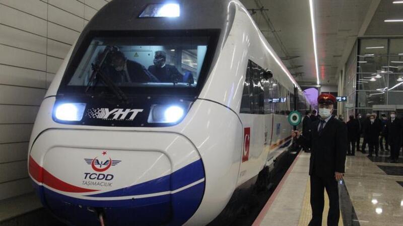 Ankara-Sivas Yüksek Hızlı Tren testleri başladı