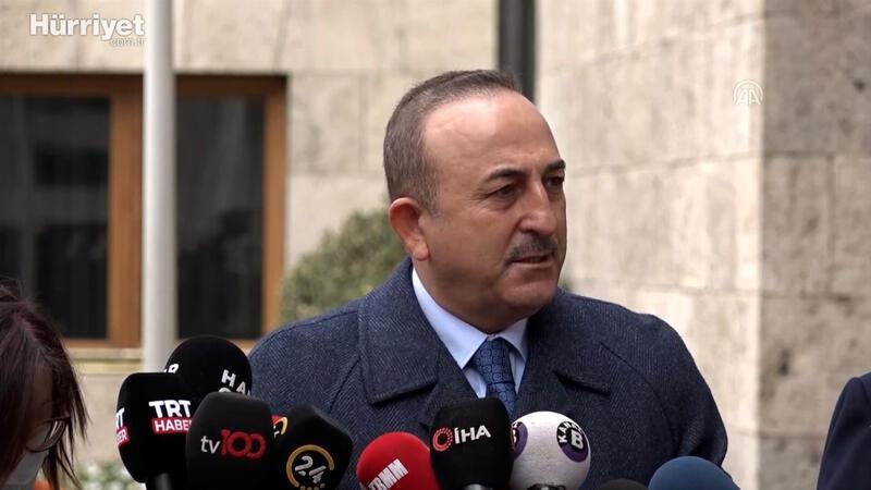 Dışişleri Bakanı Mevlüt Çavuşoğlu, kaçırılan gemi mürettebatı hakkında konuştu
