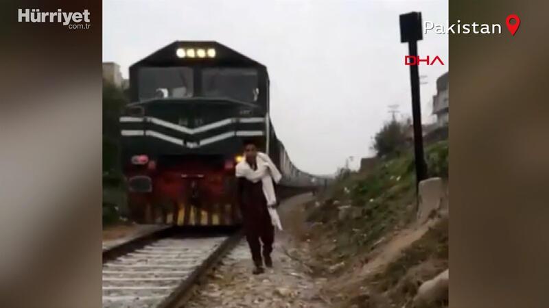 TikTok videosu çekerken tren çarptı! Feci ölüm saniye saniye kamerada