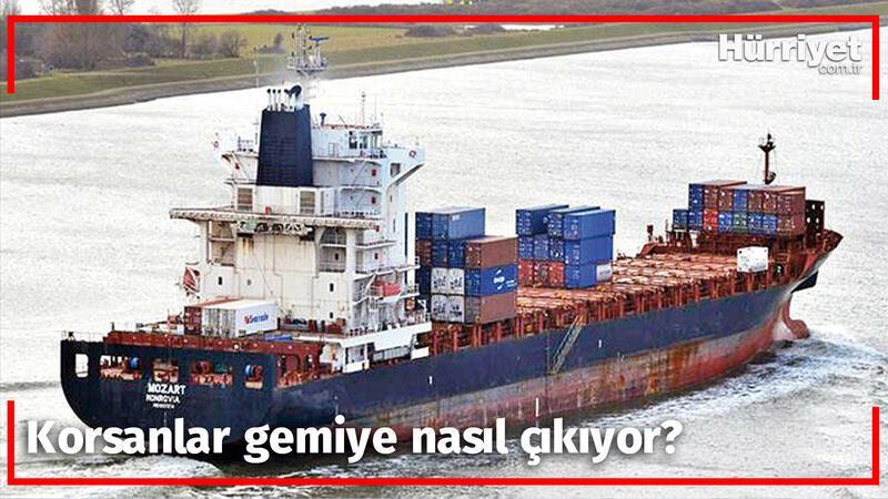 Korsanlar gemiye nasıl çıkıyor? Uzman isim yaşadıklarını ve çarpıcı bilgileri tek tek anlattı