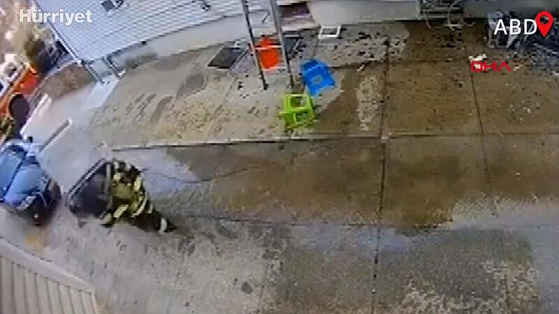 Yangına müdahaleye giden itfaiye erinin talihsiz kazası