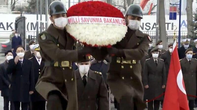 Ankara'da Türk askerinin Kore'deki zaferi anıldı