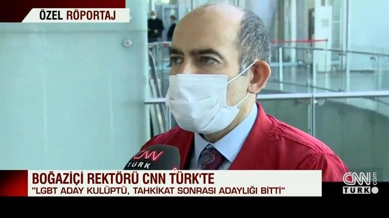 Boğaziçi rektörü CNN TÜRK'te açıklamalarda bulundu