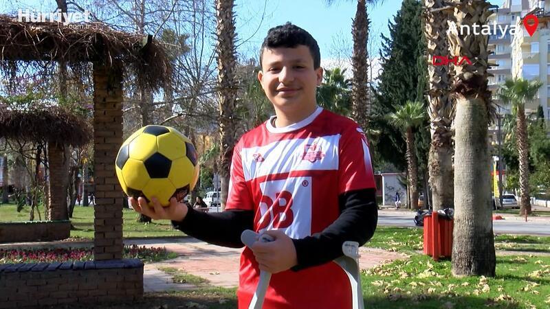 Ampute futbolun genç yıldızının transfer heyecanı