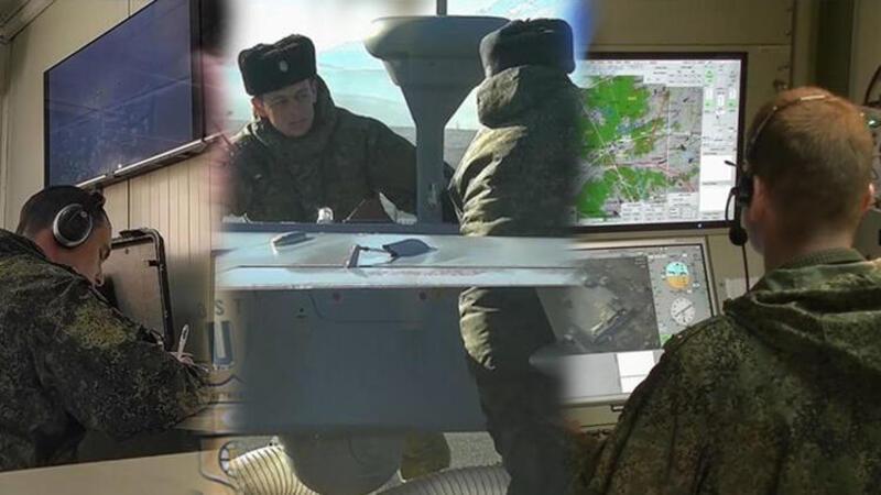 Rusya Savunma Bakanlığı, Türk-Rus Ortak Gözlem Merkezi'nden ilk faaliyetlere ilişkin görüntü paylaştı
