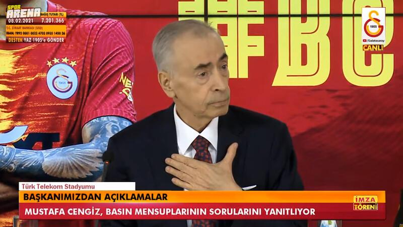 Mustafa Cengiz'den flaş ibra ve Ali Koç sözleri!